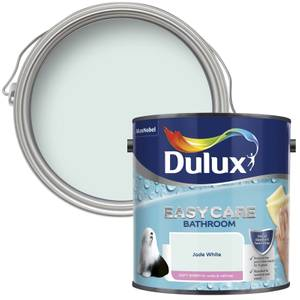 Dulux Easycare Bathroom Jade White - Soft Sheen Paint - 2.5L