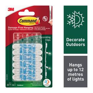 Command Outdoor Decorating Clips