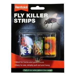 Rentokil Fly Killer Strips (Pack of 3 strips)