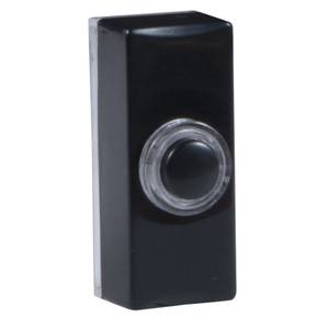 Byron 7720 Wired Lighted Push - Black