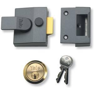 Yale 85 Deadlocking Nightlatch 40mm - Grey
