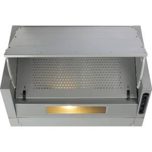 CDA EIN60FSI Integrated Cooker Hood - 60cm - Silver