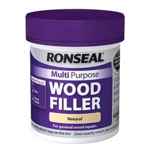 Ronseal Multipurpose Wood Filler Tub - Natural - 250g
