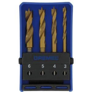 Dremel 4pc Wood Drill Bit Set
