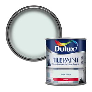 Dulux Jade White - Tile Paint - 600ml