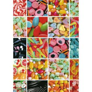 Fablon Sticky Back Plastic - Sweets - 450mm x 2m