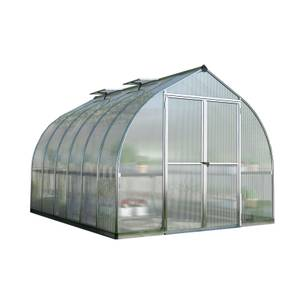 Palram 8 Bella Silver Greenhouse -  8x12ft