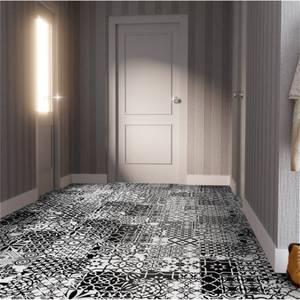 Black & White Laminate Flooring