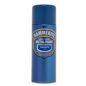 Hammerite Blue - Exterior Smooth Aerosol Paint - 400ml