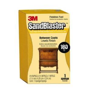 3M Sandblaster Dual Angle Sanding Sponge - Fine