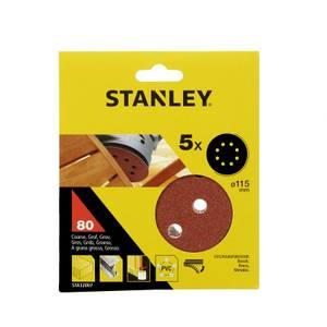 Stanley 115mm ROS Sheets 80G - STA32007-XJ
