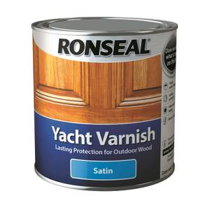 Ronseal Yacht Varnish Satin 2.5L