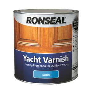Ronseal Yacht Varnish Satin - 1L
