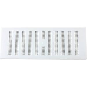 Adjustable Vent - 229 x 76mm - White Plastic