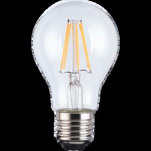LED Filament A-lamp 6W E27 Clear Light Bulb