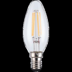 LED Filament Candle SES 4.5W Light Bulb