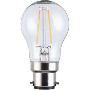 LED Filament Mini Globe BC 2.5W Light Bulb