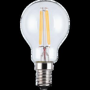 LED Filament Mini Globe SES 4.5W Light Bulb