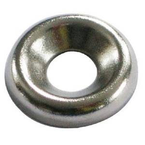 Screw Cup Washer - Nickel Plated - 6mm - 20 Pack