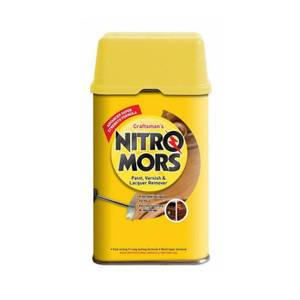 Nitromors Craftsmans Paint, Varnish and Lacquer Remover - White - 750ml