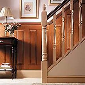 EASIpanel Raised and Fielded MDF Stair Panel - 1525 x 263mm
