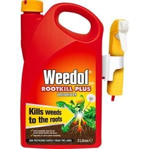 Weedol Gun Rootkill Plus Ready To Use Weedkiller - 3L