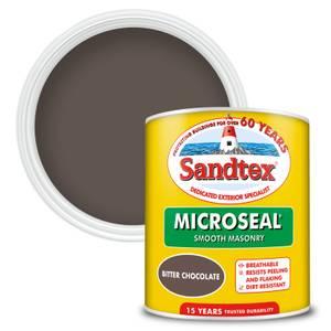 Sandtex Ultra Smooth Masonry Paint - Bitter Chocolate - 1L
