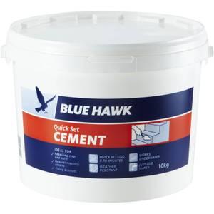 Blue Hawk Quick Set Ready Mixed Cement - 10kg