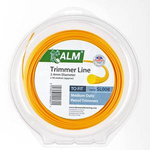 ALM Replacement Trimmer Line - 2.4mm x 90m