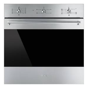 Smeg SF6341GVX Classic Single Gas Oven - 60cm - Stainless Steel
