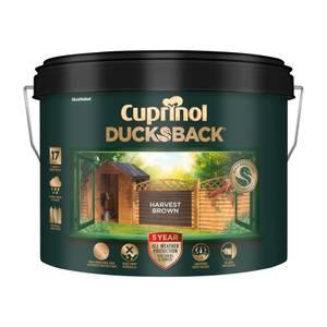 Cuprinol 5 Year Ducksback - Harvest Brown - 9L