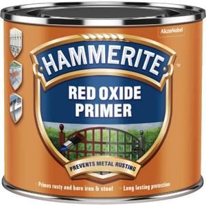 Hammerite Metal Primer - Red Oxide - 500ml