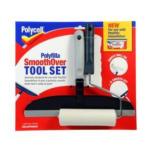 Polycell Polyfilla Smoothover Tool Set