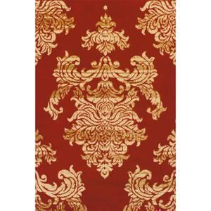Glenwod Damask Rug Red 120 x 170cm