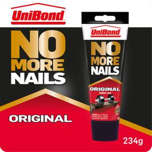 UniBond No More Nails Grab Adhesive Tube Original 234g