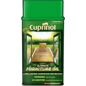 Cuprinol Ultimate Furniture Hardwood Oil - Mahogany - 1L