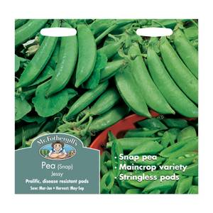 Mr. Fothergill's Snap Pea Jessy Seeds