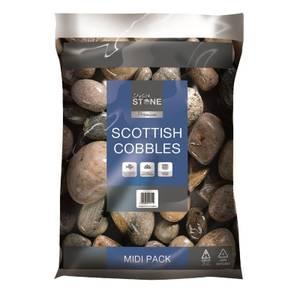 Stylish Stone Premium Scottish Cobbles - Midi Pack - 9kg