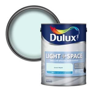 Dulux Light & Space Ocean Ripple - Matt Emulsion Paint - 5L