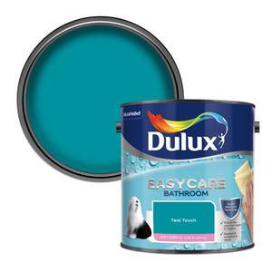 Dulux Easycare Bathroom Teal Touch Soft Sheen Paint - 2.5L