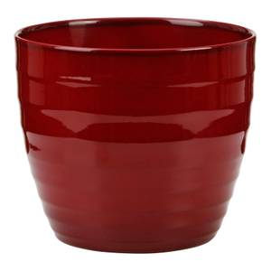 Plant Pot - Dark Red - 22cm