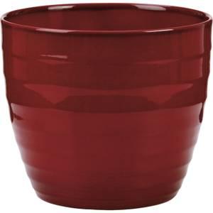 Plant Pot - Dark Red - 25cm