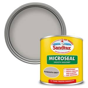 Sandtex Ultra Smooth Masonry Paint - Plymouth Grey - 150ml