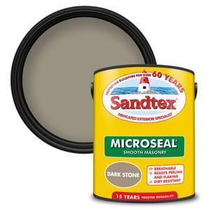 Sandtex Ultra Smooth Masonry Paint - Dark Stone - 5L