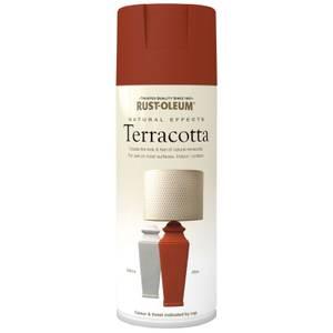 Rust-Oleum Natural Effects Spray Paint - Terracotta - 400ml