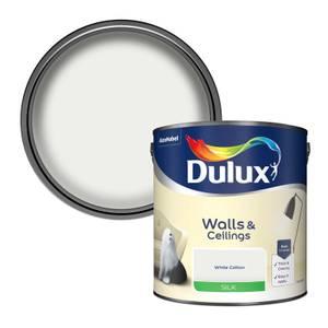 Dulux White Cotton - Silk Emulsion Paint - 2.5L