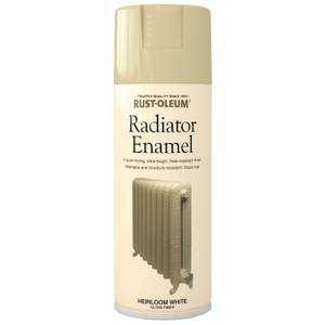 Rust-Oleum Radiator Paint Heirloom White - Spray - 400ml