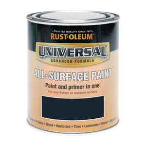 Rust-Oleum Universal All Surface Gloss Paint & Primer - Dark Grey - 250ml