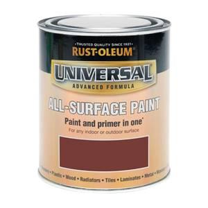 Rust-Oleum Universal All Surface Gloss Paint & Primer - Deep Red - 250ml