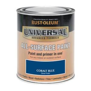 Rust-Oleum Universal All Surface Gloss Paint & Primer - Cobalt Blue - 250ml